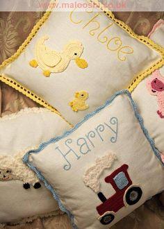 tractor ,ducks cushions