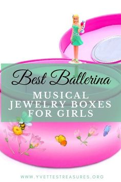 Best Musical Jewelry Boxes for little girls. Beautiful ballerina musical jewelry boxes perfect for a girl's bedroom. Cute and pretty designs, come and see for yourself today! #jewelryboxideas #giftsforgirls #kidsgiftideas Music Box Ballerina, Ballerina Jewelry Box, Unicorn Jewelry, Girls Jewelry Box, Musical Jewelry Box, Great Gifts For Mom, Unique Gifts For Her, Gifts For Girls, Cool Gifts
