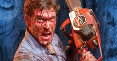 'Ash Vs. Evil Dead' Photo Promises a Very Bloody TV Show -- Bruce Campbell shares a photo from the set of 'Ash Vs. Evil Dead' while teasing his plans for Comic-Con 2015. -- http://www.tvweb.com/news/ash-vs-evil-dead-set-photo-bruce-campbell