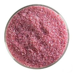 Pink Opalescent Medium Frit - 4oz - 90COE - Made From Bullseye Glass