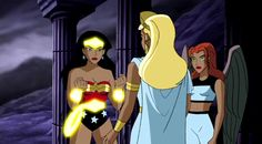 Hippolyta unlocks the full power of Wonder Woman's armor Bruce Timm, Justice League Animated, Amazon Queen, Daughter Of Zeus, Wonder Woman Art, Tartarus, Female Cartoon, Hawkgirl, Young Justice