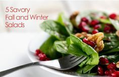Comforting Fall and Winter Salads | via