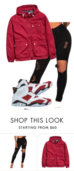 """""""Untitled #233"""" by simoneswagg ❤ liked on Polyvore featuring NIKE"""