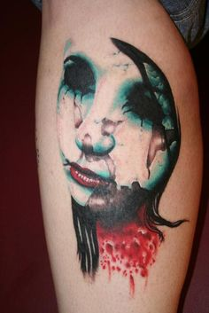 My favorite tattoo done by Trey Sharp. LOVE IT!!