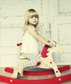 Wooden rocking horse - one of my favourites