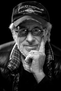 "Steven Spielberg. ET. Poltergeist. Schindler's List. Super 8. Jurassic Park. Raiders of the Lost Ark. Indiana Jones and the Temple of Doom. Jaws. Hard to argue against this guy being called ""brilliant."""