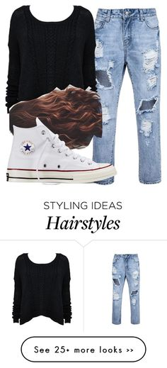 """Untitled #5900"" by assexyaswesley on Polyvore featuring Converse"