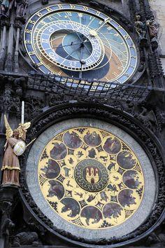 Raatihuoneen kello Praha I love Praha