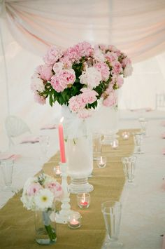 Marquee wedding ~ Emily Steffen Photography - via Wedding Sparrow