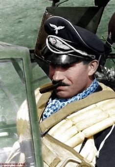 A gentleman and yet a true warrior. Respect and RIP. Adolf Galland.