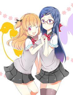 Rei and Nagisa Genderbend Manga Characters, Female Characters, Vocaloid, Kaito, Otaku, Splash Free, Free Eternal Summer, Free Iwatobi Swim Club, Makoharu