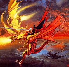 boris vallejo medieval dragon | Fantasy Arts Lair:Medieval Dragons Fantasy Art Picture Gallery