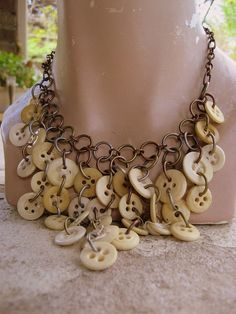 Make with copper buttons