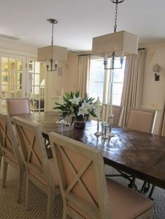 tables. chairs.    traditional dining room by Su Casa Designs
