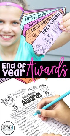 End of year awards for your students, like these fun ribbons, make the end of the year memorable for your class. Get tips and ideas from this blog post, like how to have your students make and hand out awards for all of their classmates with little prep on your end. Ribbon Design, Awards