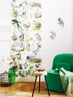Tiere und Pflanzen kommen diese Saison mitten ins Wohnzimmer - natürliche Deko ist Trend