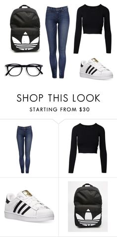 """Adidas Nerdy/Sporty"" by elizabethflores0987654321 on Polyvore featuring adidas"