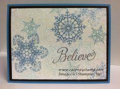 Pink Paper Bakery: Snowflake Soiree Christmas Card