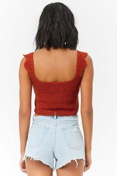 Fabulous Crochet a Little Black Crochet Dress Ideas. Georgeous Crochet a Little Black Crochet Dress Ideas. Croptop Crochet, Bikini Crochet, Crochet Crop Top, Crochet Blouse, Crochet Tops, Débardeurs Au Crochet, Gilet Crochet, Crochet Woman, Crop Top Pattern