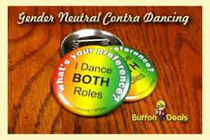 Contra Dancing Buttons Contra Dancing, Code Of Conduct, Country Dance, Folk Fashion, Fb Covers, Gender Neutral, Organizers, Coding, English