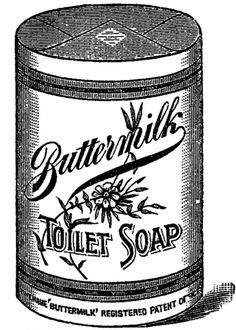 Buttermilk Toilet Soap