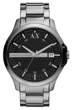 847ef2ada77 Armani Exchange watch--get cash back on this with StuffDOT! Relógios  Masculinos