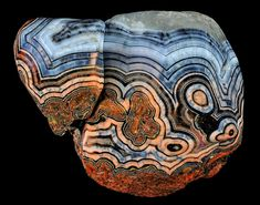 Fairburn agates |‪#‎Geology‬  Locality: Rapid City, South Dakota, United States  *Photo : © Captain Tenneal  visit : http://www.geologyin.com/