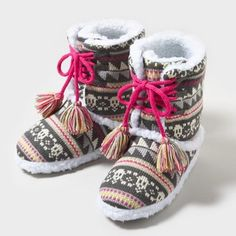 cute slipper boots