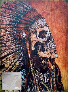 Day of the Dead Artist David Lozeau, Spirit of a Nation, David Lozeau Dia de los Muertos Art - 4