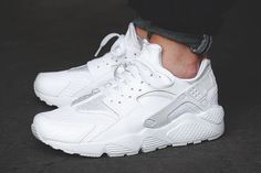 62b954a8a44 Women s White Air Huarache - Luxe Stylez - Online Store Powered by Storenvy  Huaraches Shoes