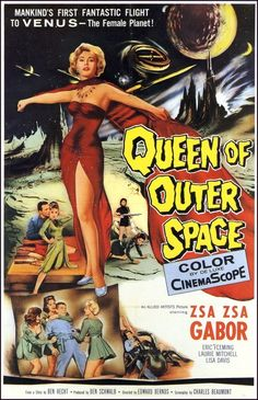 Queen of Outer Space, 1958.