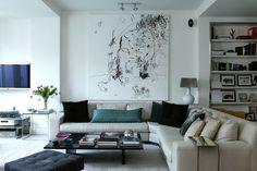 designer Isabel Lopez-Quesada, living room