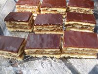 BAKE IT OFF: Gerbeaud Slice (Hungarian Zserbo). To veganize somehow.