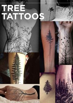 Nature Tattoos!