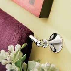 "Moen DN2622CH Glenshire Chrome 24"" Double Towel Bar"