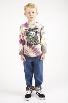 "Jian long sleeve t-shirt Wildkind Kids ""Hippie Ever After"". Ever After, Graphic Sweatshirt, T Shirt, Cute Kids, Kids Fashion, Organic Cotton, Tie Dye, Sweatshirts, Long Sleeve"