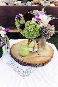 21 Rustic Wedding Centerpiece Ideas...