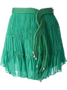 Jay Ahr rope detail mini skirt
