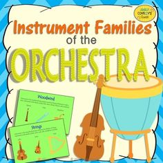 Instrument Families of the Orchestra (FREEBIE!)-download this free PowerPoint to help teach the instrument families to your students