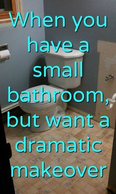 Diy bathroom makeover cheap can be done! This outdated bathroom makeover will give you ideas to makeover bathroom. If you need bathroom makeover ideas, check these out. Bathroom makeover diy can be done fairly inexpensive with these ideas. Board And Batten, Do It Yourself Home, Diy Home Improvement, Handmade Home Decor, Wall Treatments, My New Room, Decoration, Diys, Bathroom Remodeling
