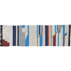 building blocks runner 2.5'x8' | CB2