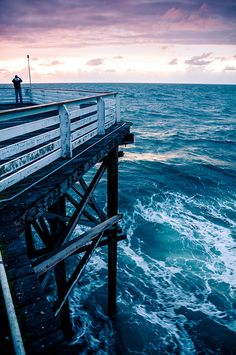 Pier, Pacific Beach, San Diego, via Flickr.