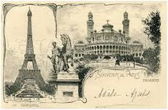 Image result for Antique PARIS advertisement Graphics