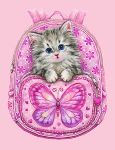 PACKPACK KITTY BY KAYOMI HARAI VISIT OUR WEBSITE www.lailas.com for more great images