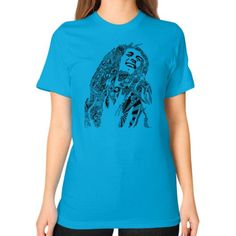 Reggae Music Unisex T-Shirt (on woman)