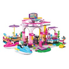 "Mega Bloks Barbie Fab Marina - MEGA Brands - Toys ""R"" Us"