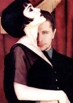Portrait: Winona Ryder  and Gary Oldman, by Ellen von Unwerth