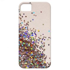 Loose Rainbow Glitter iPhone Case iPhone 5 Cover