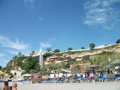 "La Burriana, playa de la popular serie ""Verano Azul"""