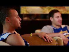The #SplashBrothers Talk Hoops on NBA Inside Stuff. #StephenCurry #KlayThompson